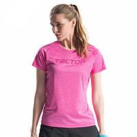Футболка женская спортивная Tectop розовая(для спорта,занятий, бега), р-р S