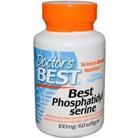 Фосфатидилсерин 100 мг 60 капс защита мозга от старения Doctor's Best USA
