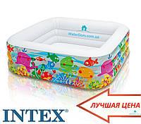 """Детский бассейн """"Аквариум"""" Intex 57471 159х159х50, фото 1"""