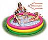 Надувной бассейн Intex детский + подарки