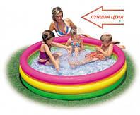 Надувной бассейн Intex детский + подарки, фото 1