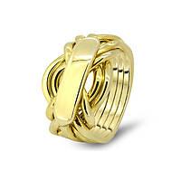Золотое кольцо для мужчин от Wickerring