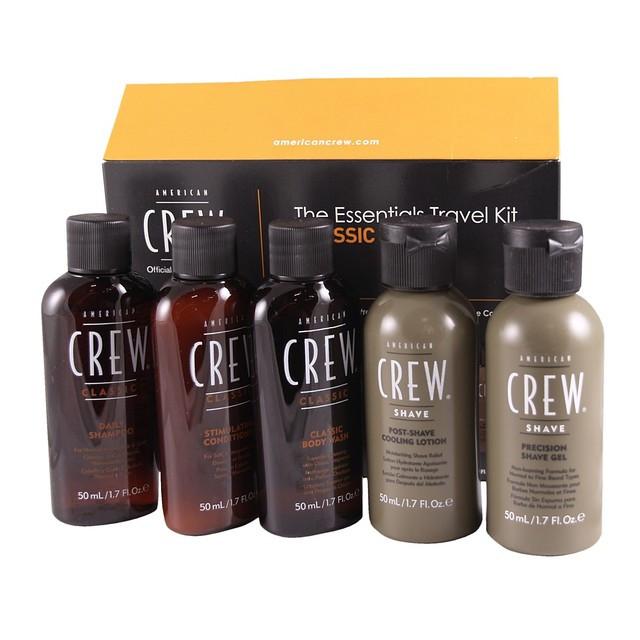 Подарочный набор для мужчин American Crew The Essentials