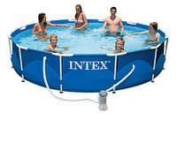 Бассейн каркасный Intex 6503л / 366*76 см с фильтром