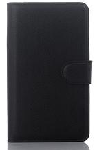Кожаный чехол-книжка для Sony Xperia E4 E2115 черный
