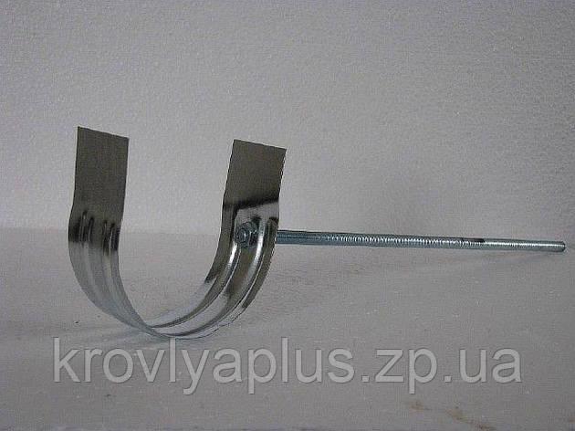 Водосток из оцинковки - Крепление желоба  резьбовое, фото 2