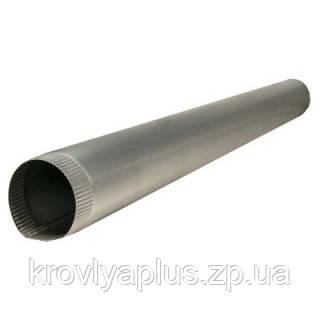 Водосток из оцинковки - Труба оцикованная Ǿ100, 2м, фото 2
