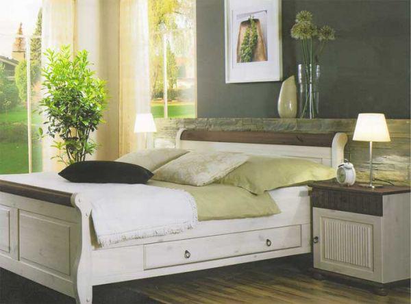 Кровать Мальта-Макси -160 с ящиками (без ламелей) Империя дерева