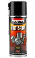 Универсальный аэрозоль Multi Spray Soudal 400 мл.