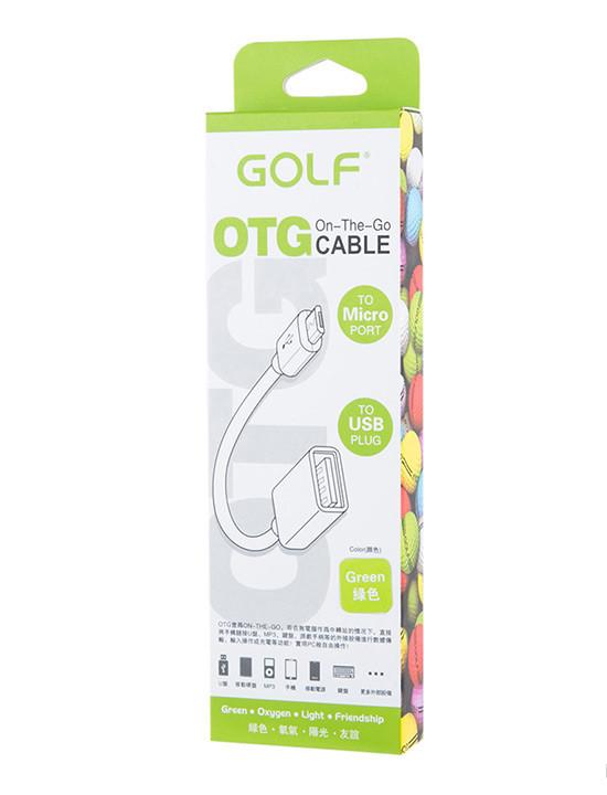 Кабель Golf GF-06 OTG micro \ black