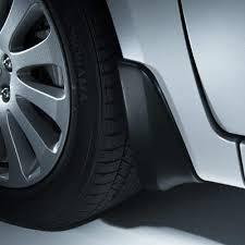 Брызговики передние комплект аксессуар Subaru Impreza 08-12 Оригинал (J1010FG001NN)