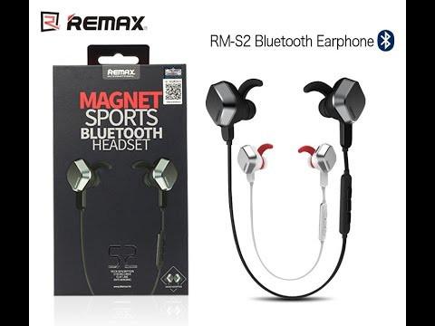 Наушнки REMAX RB-S2 Bluetooth \ Black