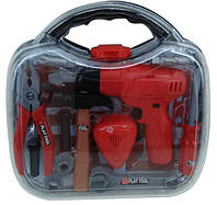 Набор инструментов TG206K  в чемодане 30*27*8 см.