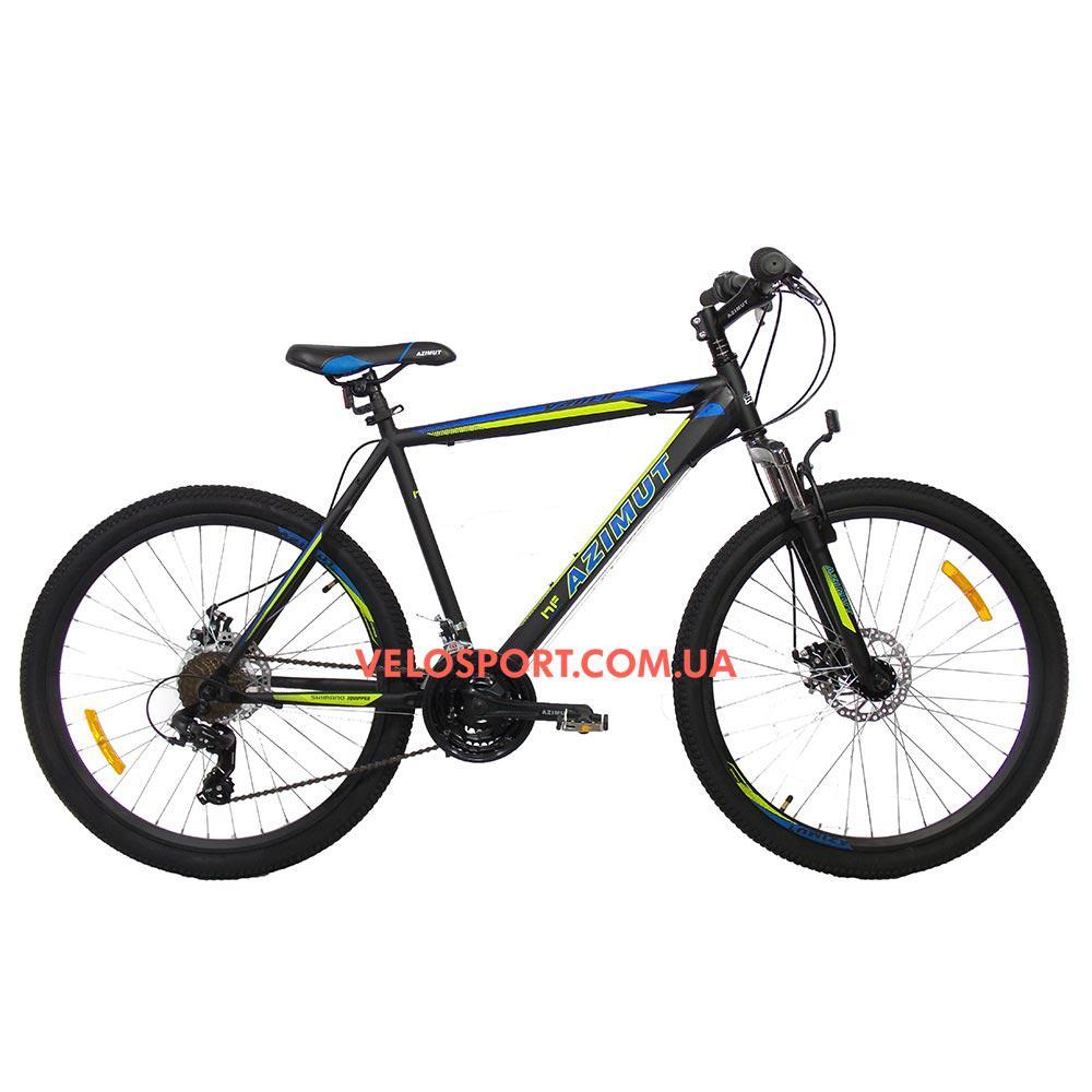 Горный велосипед Azimut Vader 26 GD+ черный