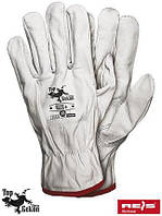 Перчатки RLCS+ (REIS - Top Gekon), козиная кожа полностью., фото 1