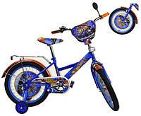 Велосипед детский 2-х колес 12 181209  со звонком, зеркалом,без ручного тормоза