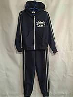 """Спортивный костюм подростковый для девочки """"Authentic"""" 7-11 лет,темно синего цвета, фото 1"""
