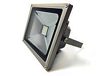 Прожектор LED 20w RGB+пульт IP65 1LED LEMANSO / LMP9-21 RGB серый