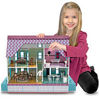 Кукольные домики и мебель для них
