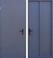 Двери технические металл-маталл
