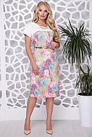 Женское льняное платье Ольга fnc-1011