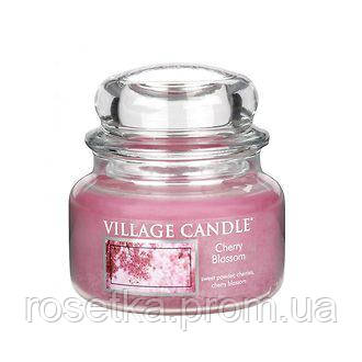 """Ароматичні свічки Village Candle """"Chery Blossom"""" Цвітіння Сакури Premium, 315 г. (1 шт.)"""