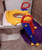 Детское сиденье со ступенькой для унитаза Froggiе