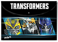 Папка на кнопке А4 KITE Transformers TF15-200K