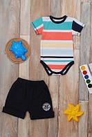 Комплект для мальчиков (боди и шорты) разные расцветки