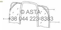 Доска (опция) на YTO X804