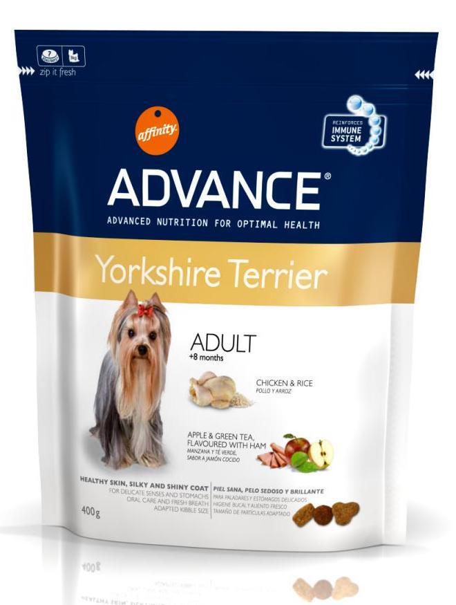 Сухий корм ADVANCE Yorkshire Terrier 400 г для йоркширських тер'єрів
