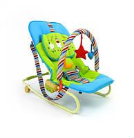 Кресло шезлонг детский Качалка  Maxi Milly Mally 120288