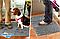 Коврик антигрязь придверный поглощающий Clean Step Mat серый, фото 4