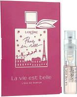 Lancome La Vie Est Belle L'Eau De Parfum - Парфюмированная вода 1,2ml (пробник) (Оригинал)