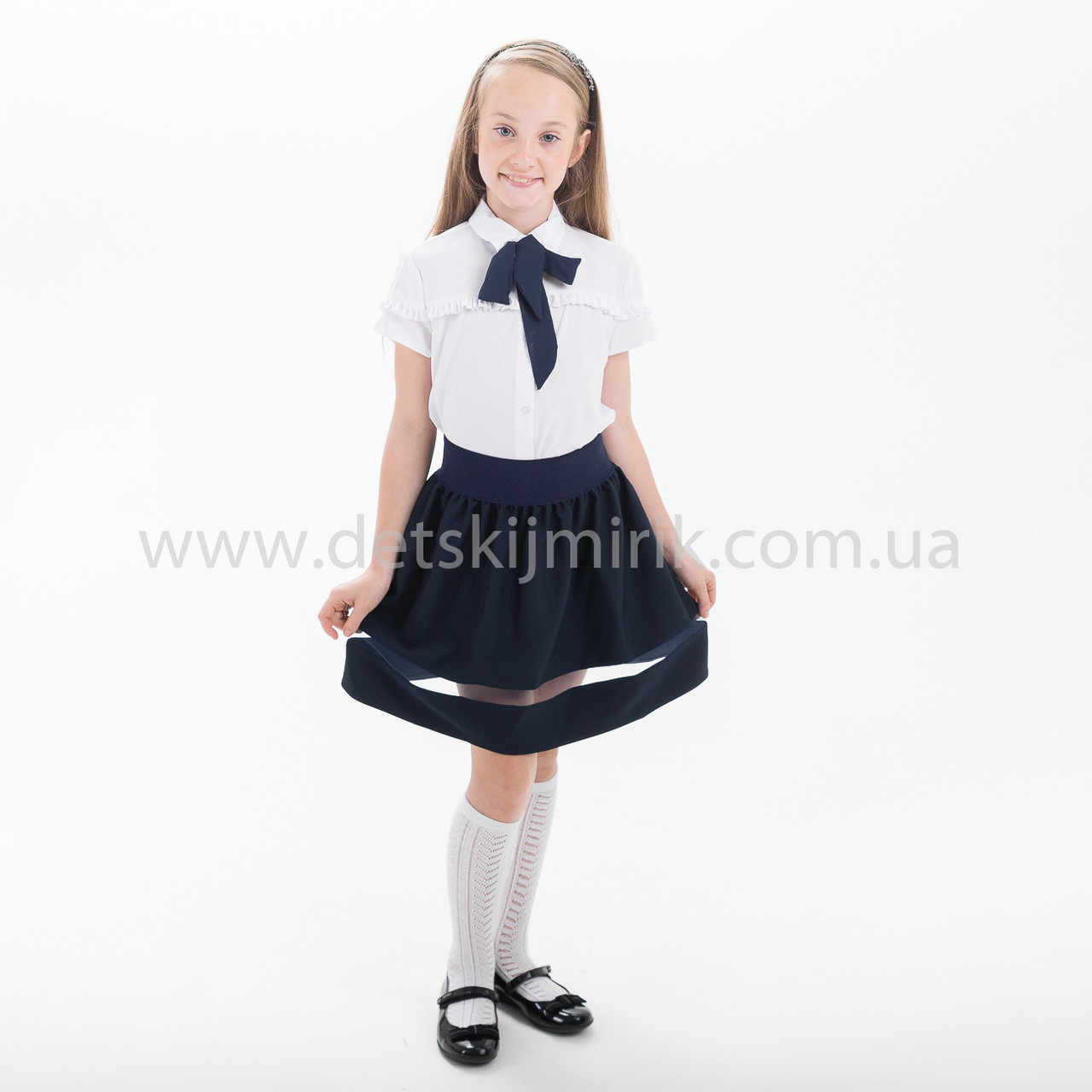 Юбка для девочки для школы  ,Новинка 2018 года, фото 1
