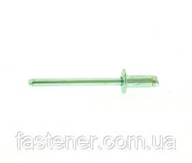 Заклепка вытяжная сталь/сталь 4,0х8,0 упак-625 шт, Швеция