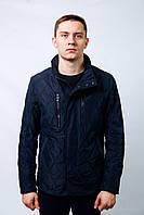Куртка парка пиджак бомбер весенняя Мужская батал ветровка стеганная классика