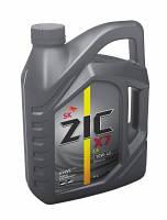 Автомобильное моторное масло ZIC X7 10W-40 SM/CF 4 лтр.