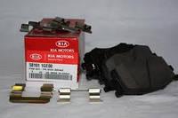 Колодки тормозные передние Хундай ACCENT  KIA RIO 58101-1GE00
