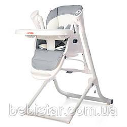 Стульчик для кормления серый питание от сети и батареек CARRELLO Triumph 10302 Grey от рождения до 3 лет