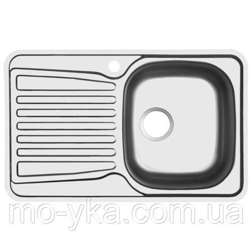 Кухонная мойка ukinox COР 780.480(полировка)