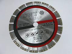 Алмазный отрезной диск по асфальту DWT DS-230A