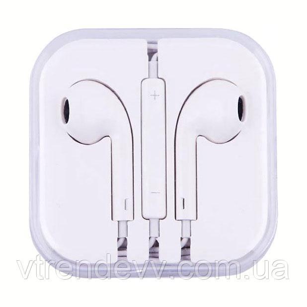 Наушники проводные для iPhone EarPods 3.5 мм