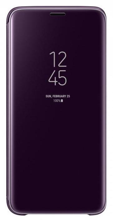 Чехол Samsung Clear View Standing Cover для Galaxy S9 (G960) [Orchid Gray (EF-ZG960CVEGRU)]