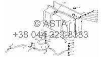 Топливный бак на YTO X804