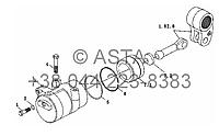 Гидроцилиндр на YTO X804