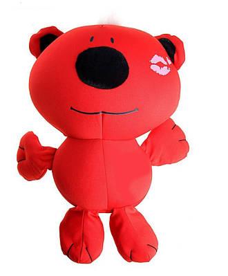 """Мягкая игрушка (антистресс) """"Медведь"""" красный"""