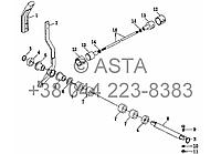 Механизм подъема на YTO X804