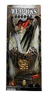 Рыцарский набор 333-30  Меч игрушечное оружие и доспехи,на планшетке 64*39*5 см.