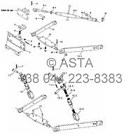 Подъемный механизм (опция) на YTO X804